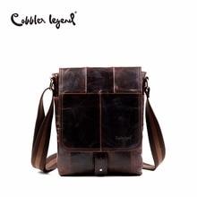 Fashion Men's Travel Business Shoulder Bag Briefcase Real Genuine Leather Solid Messenger Crossbody Bags цена
