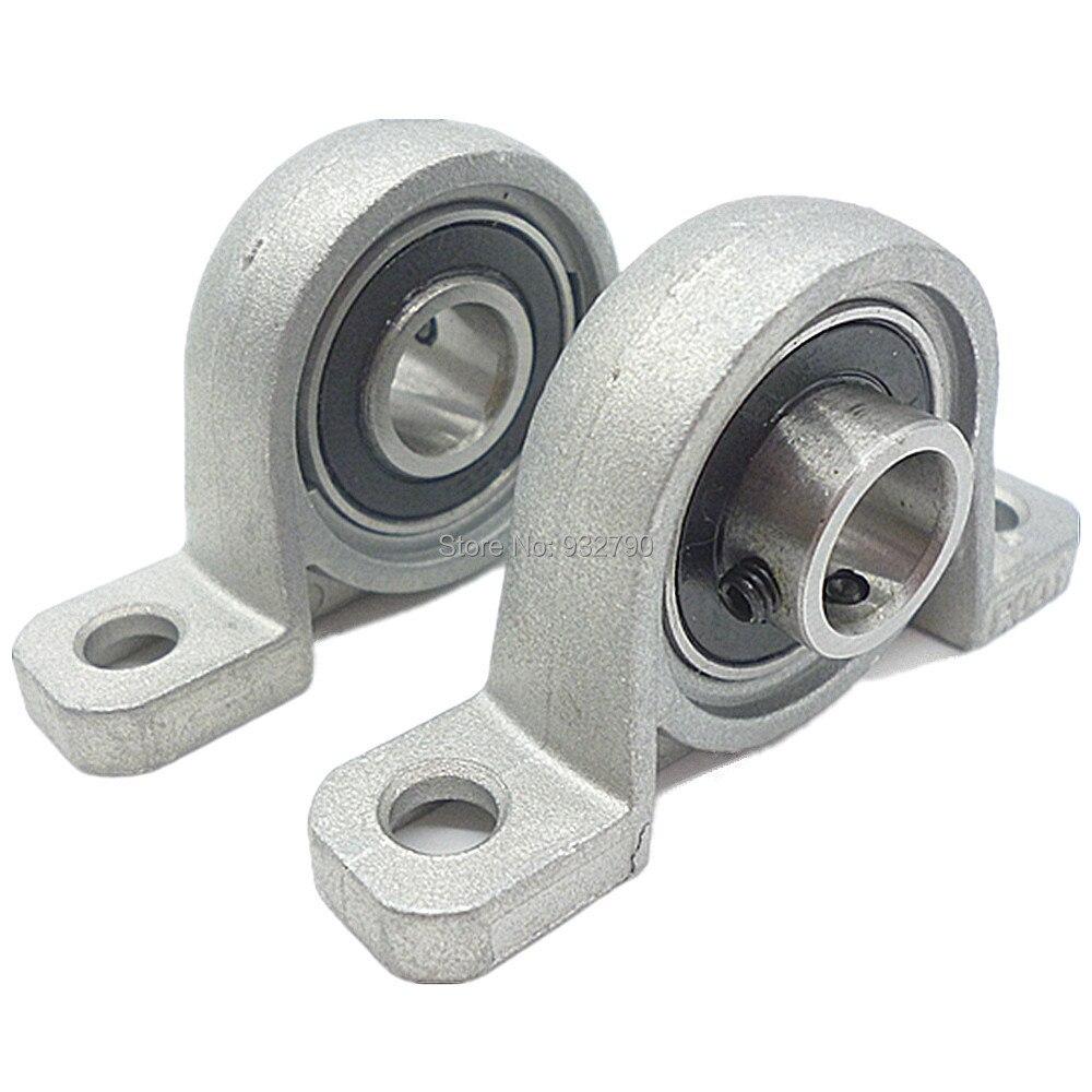 Cast Zinc Block : Pcs pillow block bearings bore inner dia mm zinc alloy