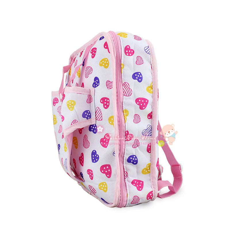 Candy color backpack Wear fit  for 43cm/17inch baby Doll(only sell bag)Candy color backpack Wear fit  for 43cm/17inch baby Doll(only sell bag)