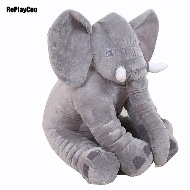 40x33 cm Kawaii Bayi Gaya Hewan Gajah Doll Boneka Mainan Mewah Gajah Mewah  Bantal Tidur Bantal 4e82205860