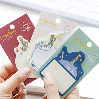 1pack /lot Cute Little Prince Note Pad Notes  Memo Pad N Times Planner Sticky Notes School Stationery 1pack lot kawaiii memo weekly plan mini memo pad n times self adhesive schedule sticky notes stationery for school and office