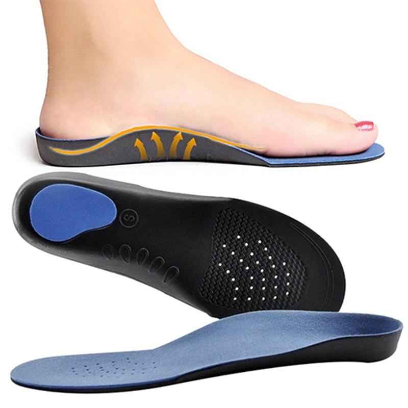 Alta calidad pie plano órtesis plantillas ortopédicas Vario cojín para los pies almohadillas cuidado plantillas ortopédicas plantillas para los