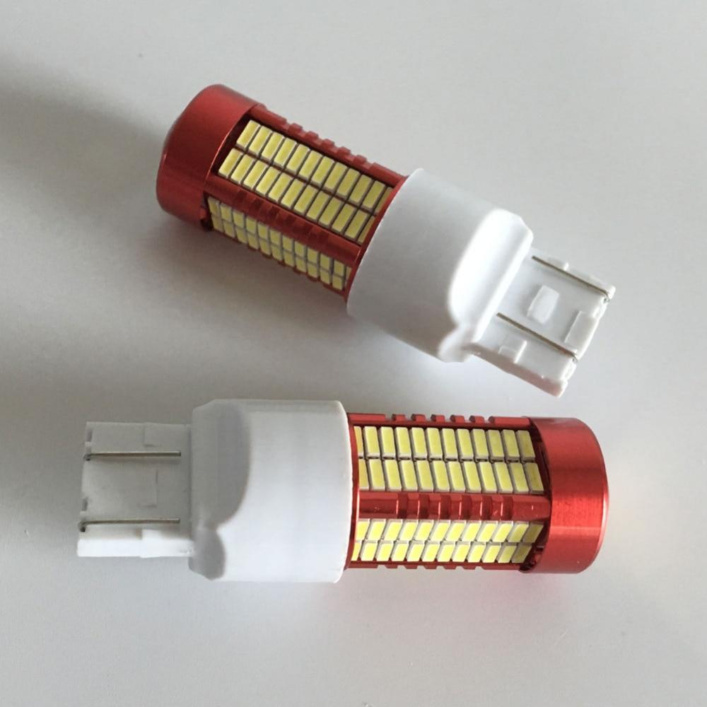 2PCS Led Light 50W 6500K 7443 W16W T20 106SMD 4014 - Автомобилни светлини - Снимка 6