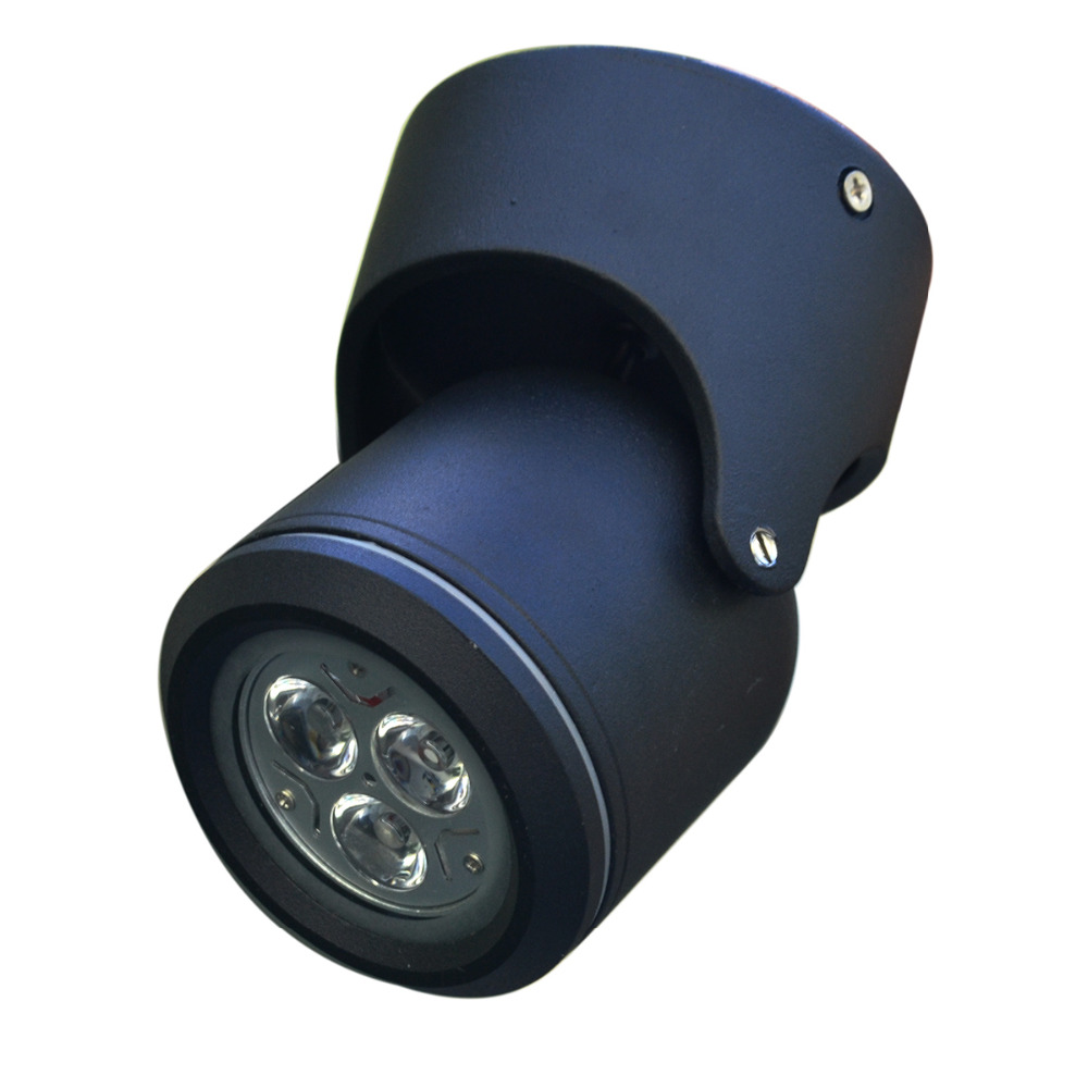 LED-es világítás Kültéri erkélyes mennyezeti ajtók reflektorfény, falfény, ingyenes szállítás