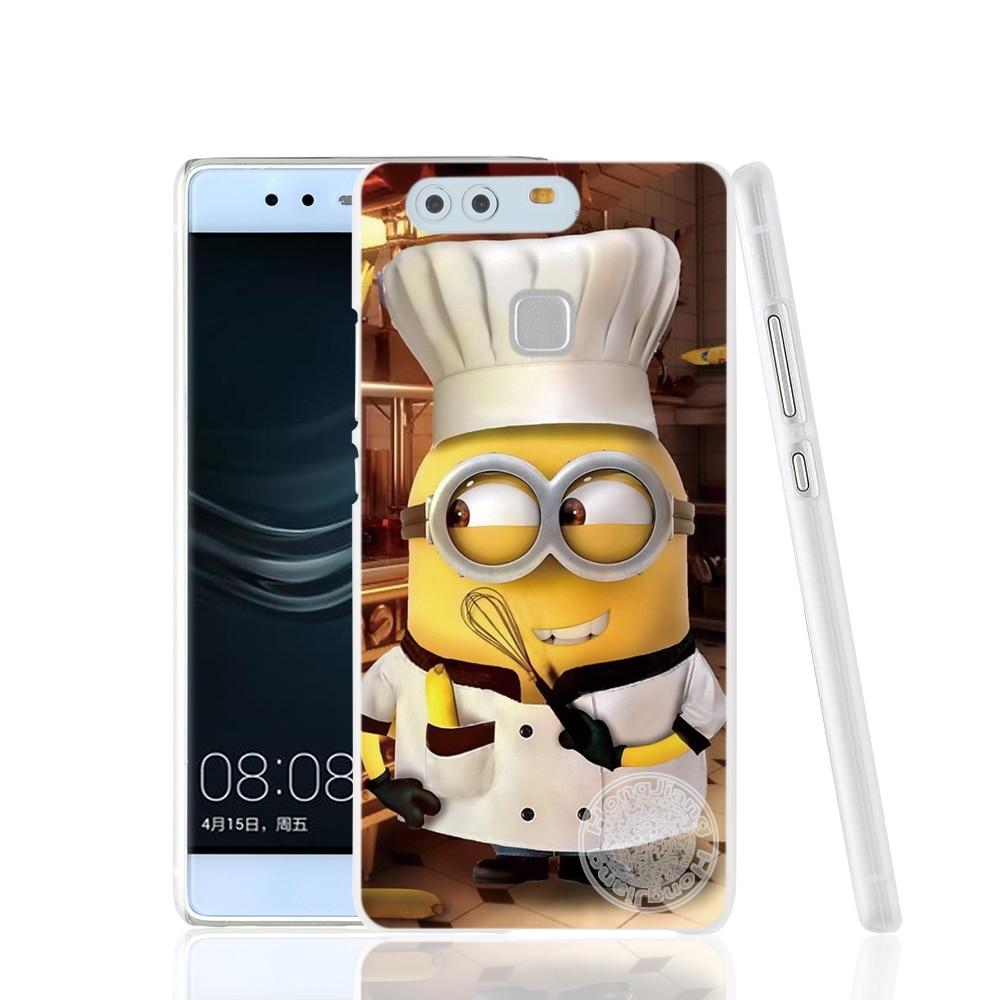 Minions Agnes Despicable Me Cartoon Phone Case For Huawei Ascend P7 P8 P9 P10 Lite Plus G8 G7 Honor 5C Mate 8