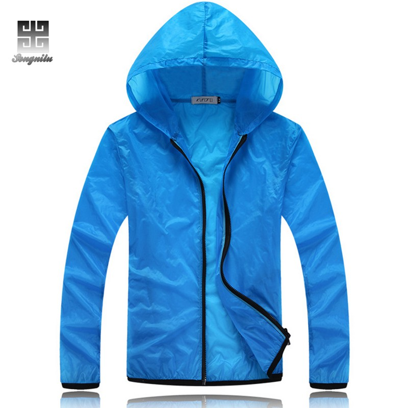 Men Summer Hiking jacket waterproof Windproof Cycling Jersey Quick drying New Nylon Clothes summer sports jacket tote bags for work