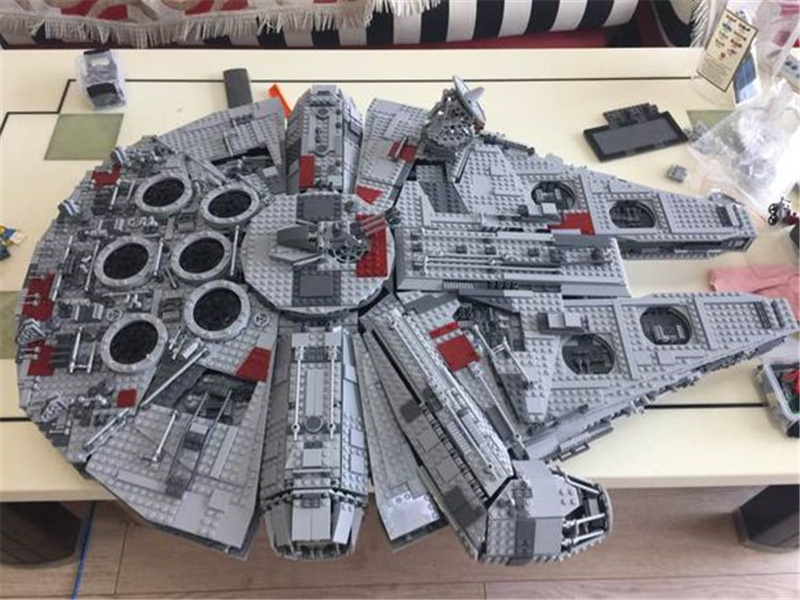 5265pcs Star Ultimate Collector's Model Building Kits Blocks Bricks Children Toys Compatible Lepins Birthday Christmas Gift Wars 2015 high quality spaceship building blocks compatible with lego star war ship fighter scale model bricks toys christmas gift
