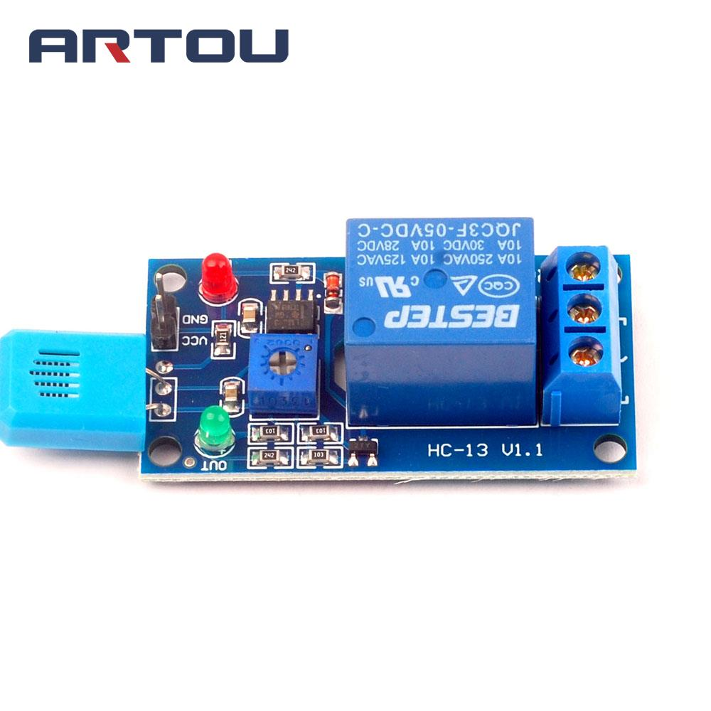 3pcs Wet Switch 5v Relay Module Humidity Common Terminal 3common Normally Open Closed Three Ports Is Equivalent To A Dual Control Coil Power Often Beginning With