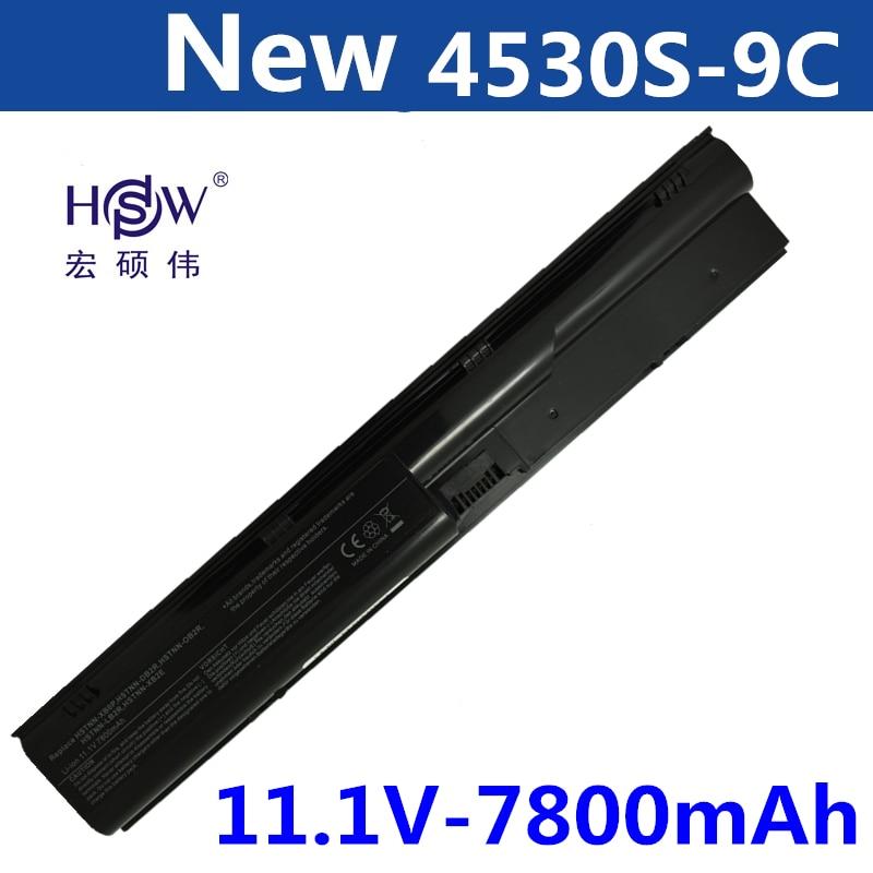 A HSW 7800 mAh bateria Para HP ProBook 4330 s 4331 s 4430 s 4431 s 4435 s 4436 s 4530 s 4535 s 633733-151 633733-1A1 633733-321 633805-001