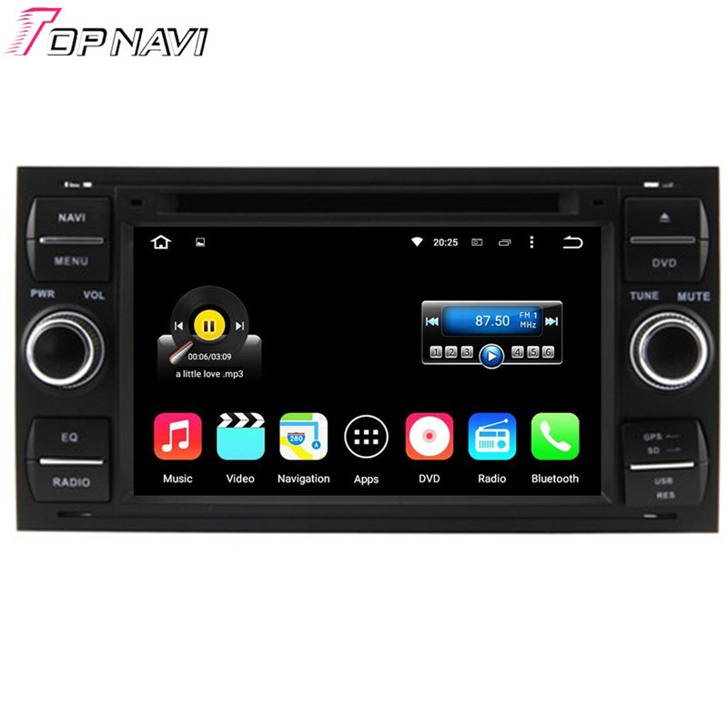 Quad Core Android 5.1.1 Car Radio For Focus 1999 2000 2001 2002 2003 2004 2005 2006 2007 2008 With Stereo GPS DVD