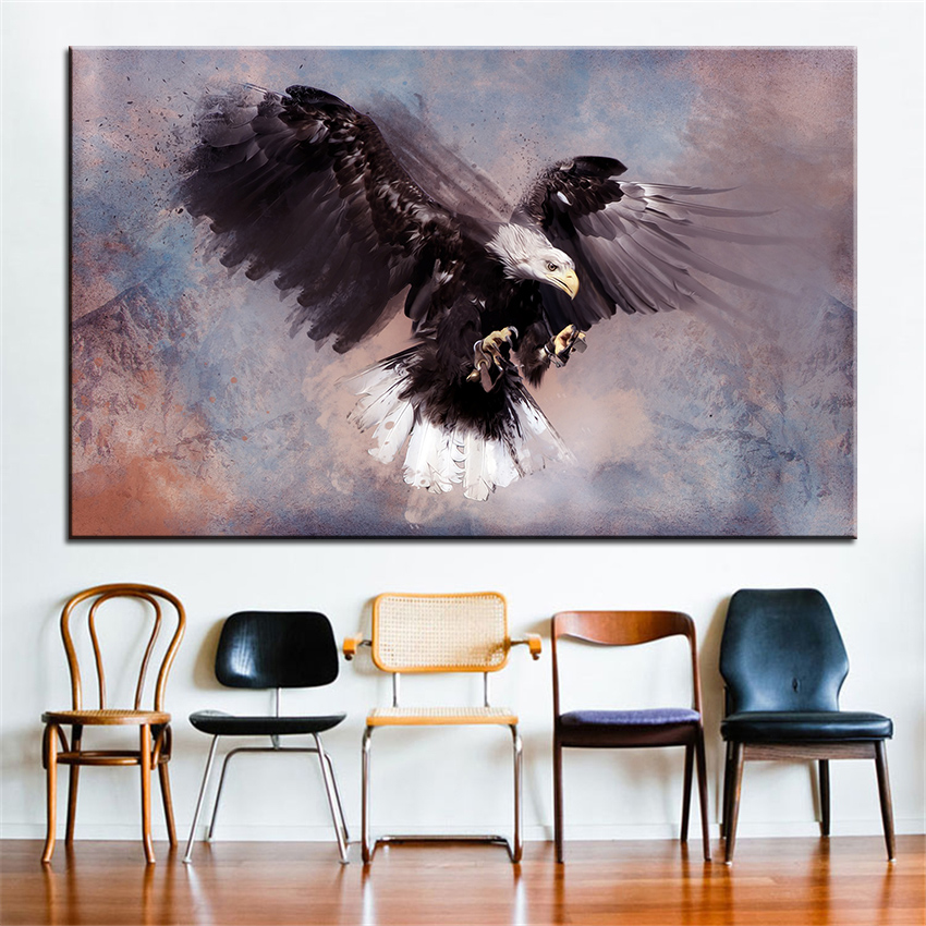 Large Size Printing Oil Painting Predator Wall Painting