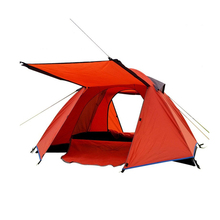 2 Person Double Layer Outdoor Camping Tent Windproof Rainproof Mosquito Net Portable Summer Tent for Hunting