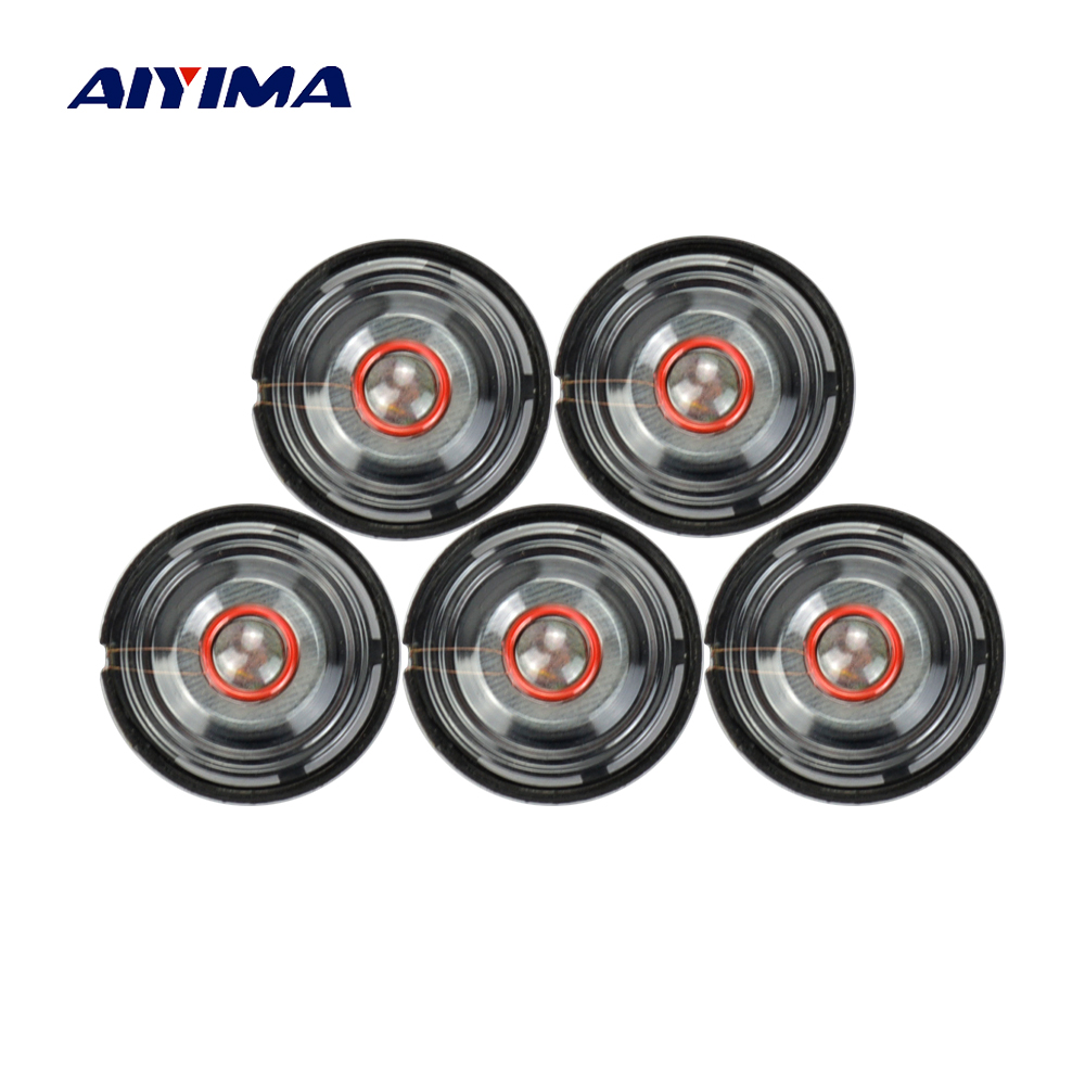 AIYIMA 10Pcs Mini Audio Portable Speakers 8Ohm 0.25W 21mm Headphone Speaker DIY For Earphone Toy Horn Speakers