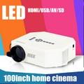 Newest Portable Pocket Mini Game Digital LED VGA Video Projector with HDMI VGA AV USB SD home projector