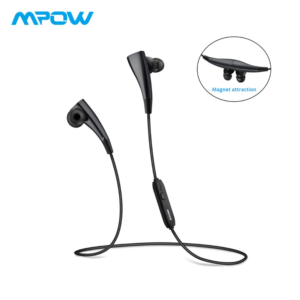 Mpow MBH31B Magneto Bluetooth Kopfhörer Wearable Wireless Kopfhörer Mit Mikrofon 7 Stunden Wiedergabe Zeit Earbuds Für iPhone X/8