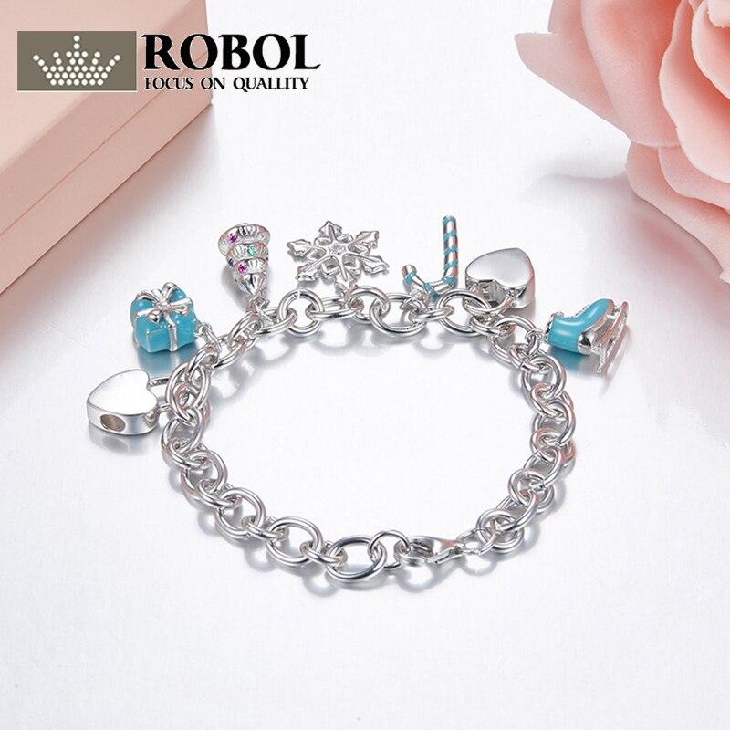 925 argent Sterling de luxe en forme de coeur mignon Bracelets Tiff Style mode femmes charme bijoux dame cadeaux livraison gratuite