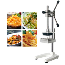 GZZT Manual Potato French Fry Cutter Heavy Duty Commercial Fries Cutting Machine For Restaurant Use Slicer