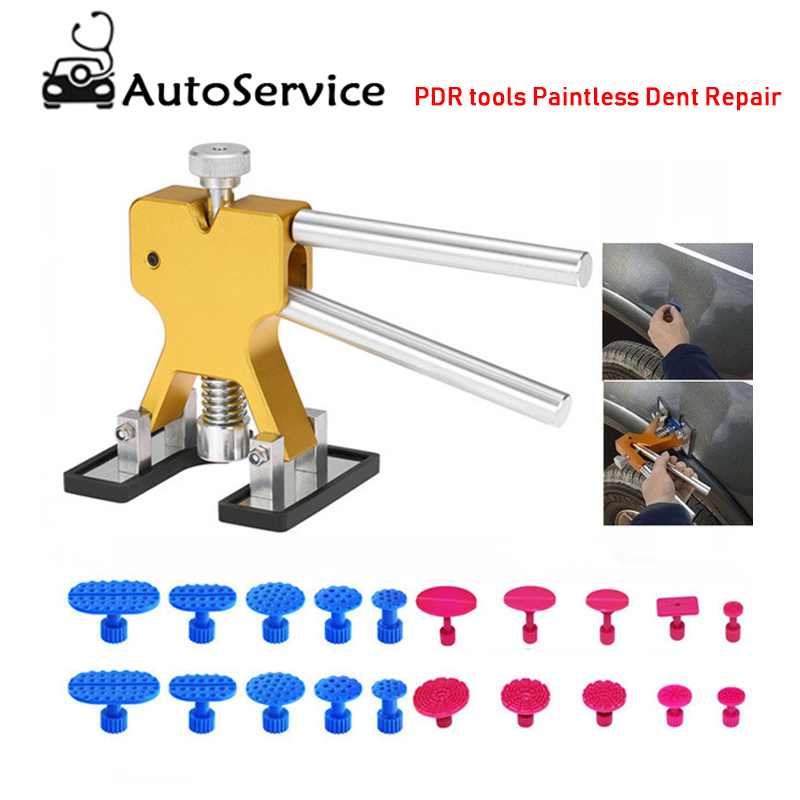 Car Dent Remover Puller Repair Kit Set Dent Puller Car Auto Body Bodywork Panel Dent Removal Pdr Tools Paintless Dent Repair