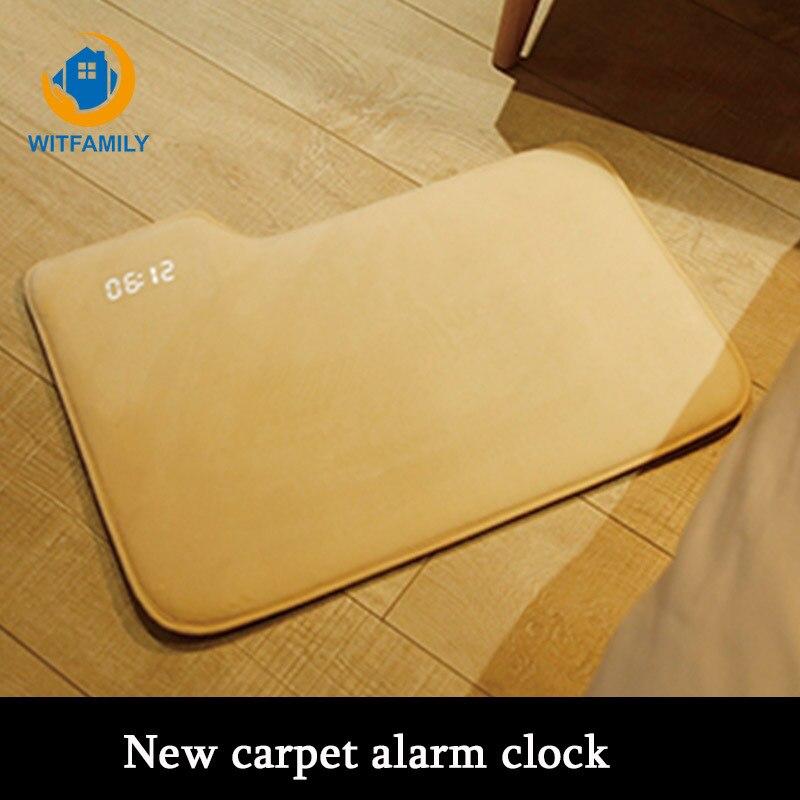 New modern carpet alarm clock LED digital alarm clock with luminous alarm clock usb charging electronic despertador bedroom
