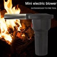 Электрический вентилятор для барбекю воздуходувка помощь сжигание пикника приготовления зажигалок оборудование для барбекю GQ999