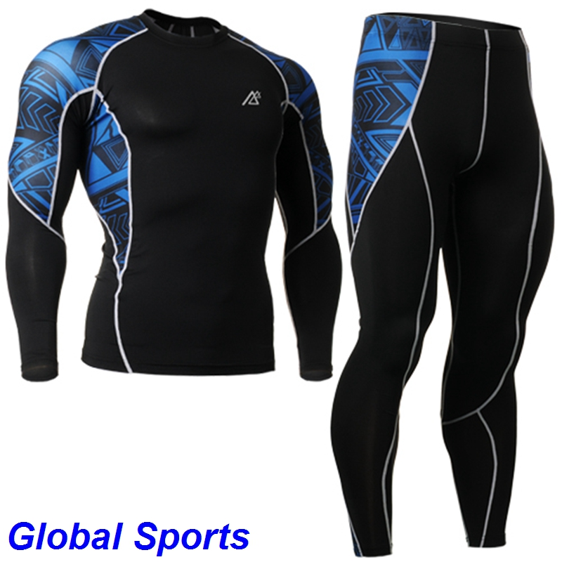 New 2017 compression Cycling Jersey Pants Ropa de Ciclismo sets Bike Wear Cycling Clothing Set pants men tiendas de ropa online