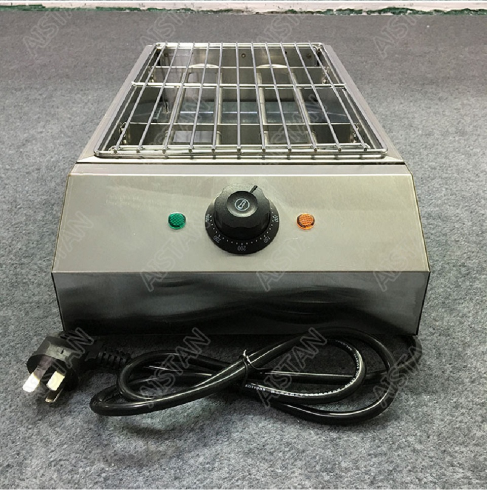 EB280 Electric Smokeless Barbecue Oven Grill for bbq machinery Stainless Steel High Power 21