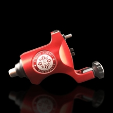 UPTATSUPPLY Rotary Tattoo Machine Bishop Style Rotary Tattoo Gun Professional Machine Red Silver Gold Blue Free Shipping