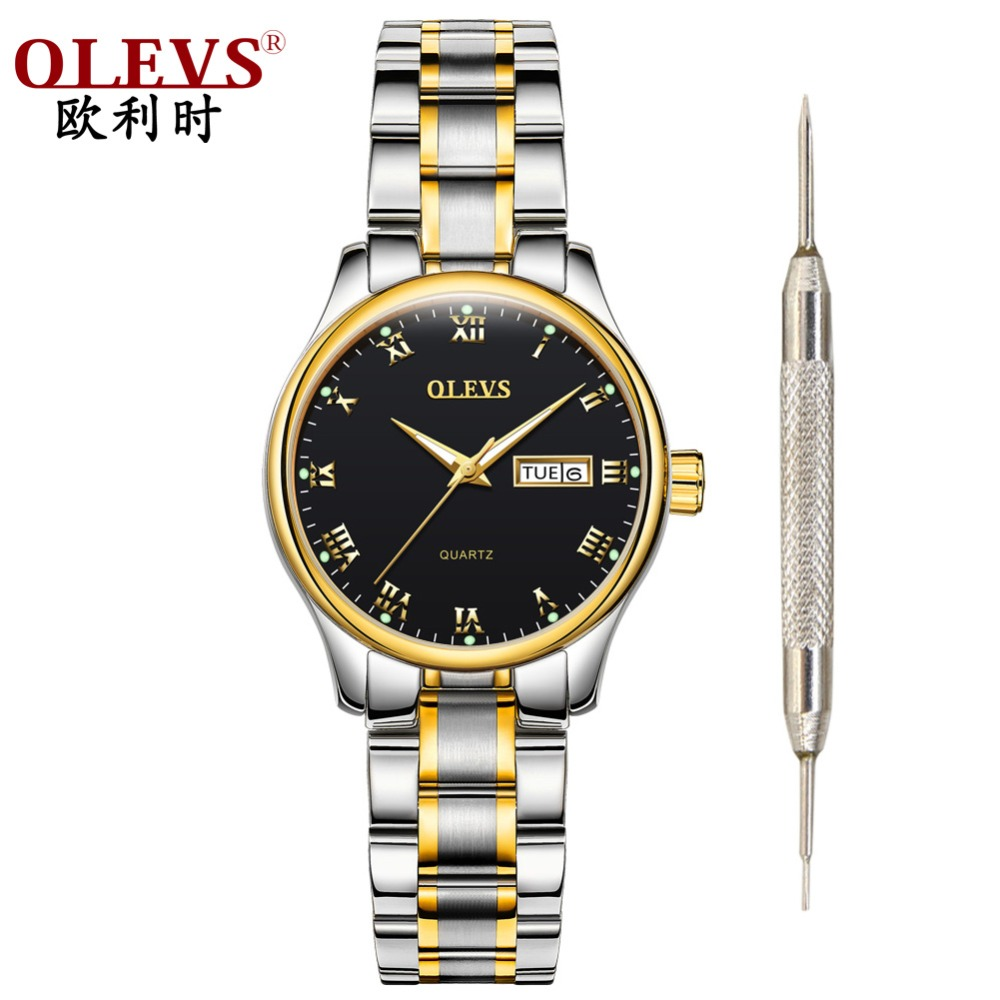 olevs women 39 s watches uhr female watch business casual. Black Bedroom Furniture Sets. Home Design Ideas