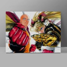 One Punch Man Wall Pictures Saitama Cool Canvas Painting Living Room HD Print Art
