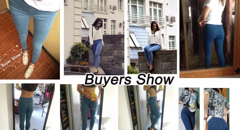 BIVIGAOS Basic Skinny Womens Jeans Ankle Pencil Pants Slim Elastic Denim Pants Jean Leggings Female Cotton Jeggings Jeans Women 2