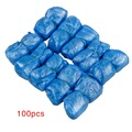 FGGS 100 Pcs Disposable Shoe Covers Carpet Cleaning Overshoe Guests Family