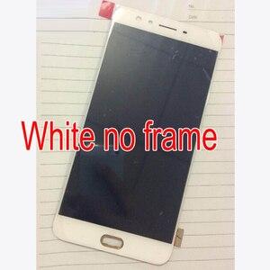Image 3 - Oryginalny jakości czarny/biały 6.0 cal dla Oppo F3 Plus wyświetlacz LCD + ekran dotykowy Digitizer zgromadzenia z ramki część zamienna