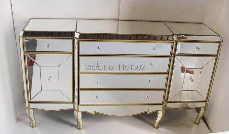 Mr 401051s Mirrored Drawers Tall Chest
