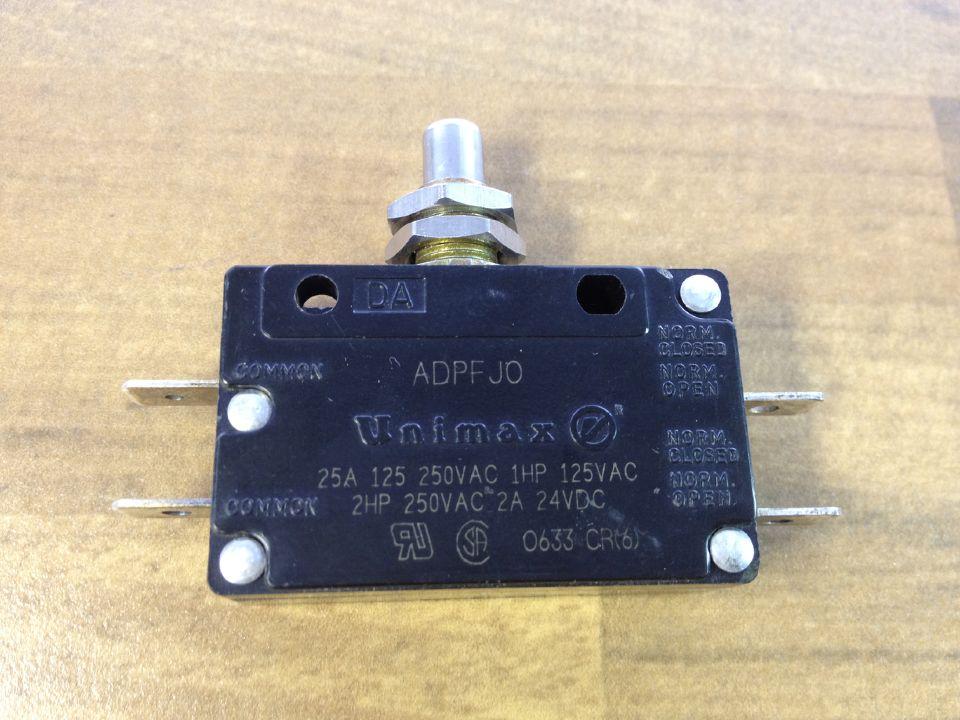 U S Adpf Jo Unimax Travel Switch 25a250v Limit Micro