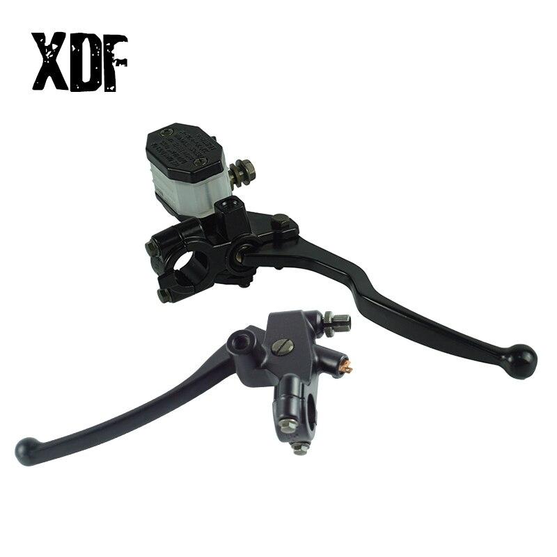 """Brake Master Cylinder Clutch Lever 7//8/"""" 14mm for Suzuki DR200 GN250 DRZ GS RG"""