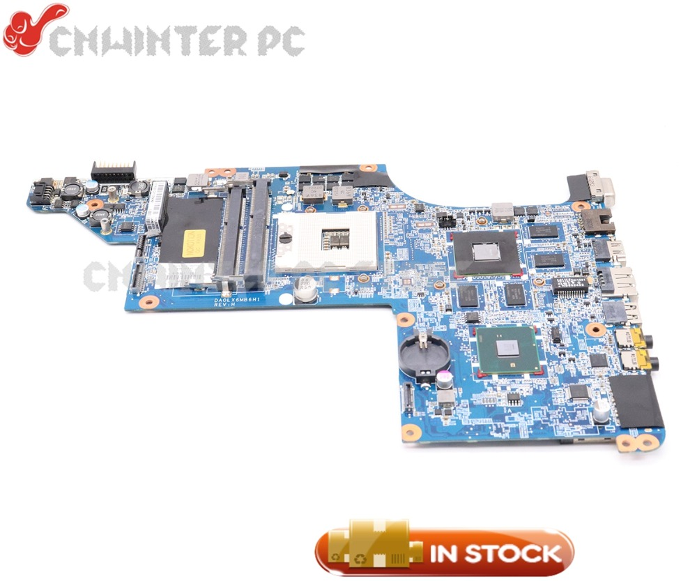 NOKOTION DA0LX6MB6F2 605320-001 615307-001 For HP Pavilion DV7T DV7-4000 Laptop Motherboard HM55 DDR3 HD5650M 1GB i7 cpu only nokotion laptop motherboard for hp pavilion dv7 dv7 4000 609787 001 da0lx6mb6h1 intel hm55 ati 216 0774007 ddr3