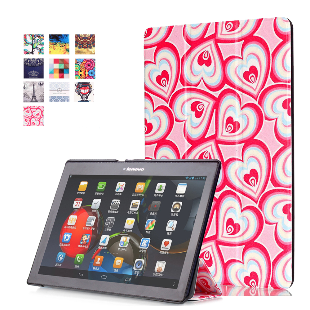 Colorful Print Case for Lenovo Tab 3 10 Business TB3 X70F M Tablet Case Cover 10