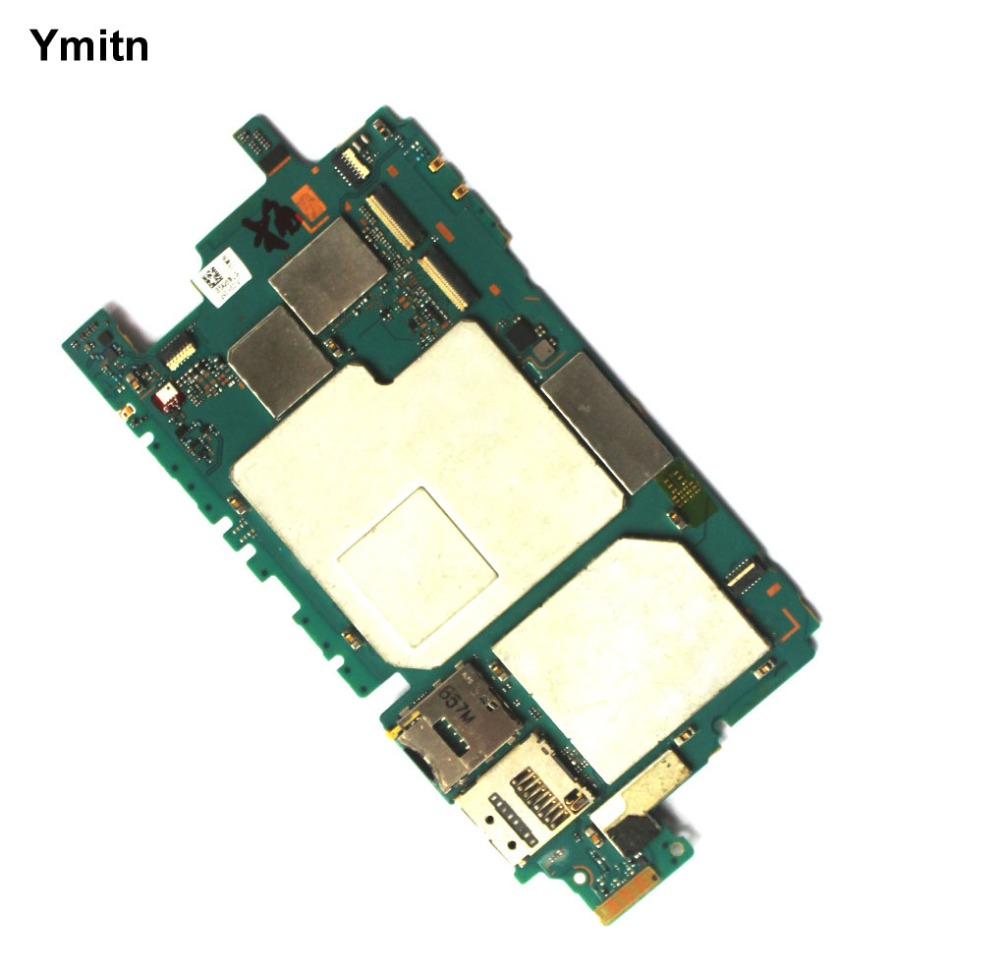 Ymitn Mobile Électronique panneau carte mère Carte Mère Circuits Câble Pour Sony xperia Z5 mini Z5mini Z5C Compact E5803 E5823