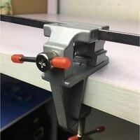 1 PCS Mini Table Household Miniature Multi Function Vise Clamp Small Tiger Precision Flat Tongs