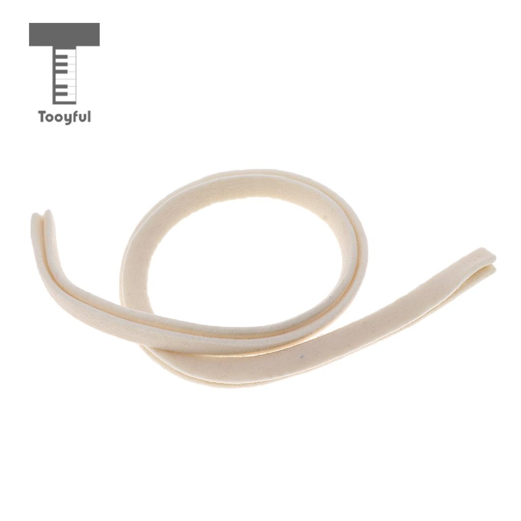 Tooyful White Grand Piano Damper Lifter Felt for Trichord 3 String Notes Piano Repair Replacement Parts