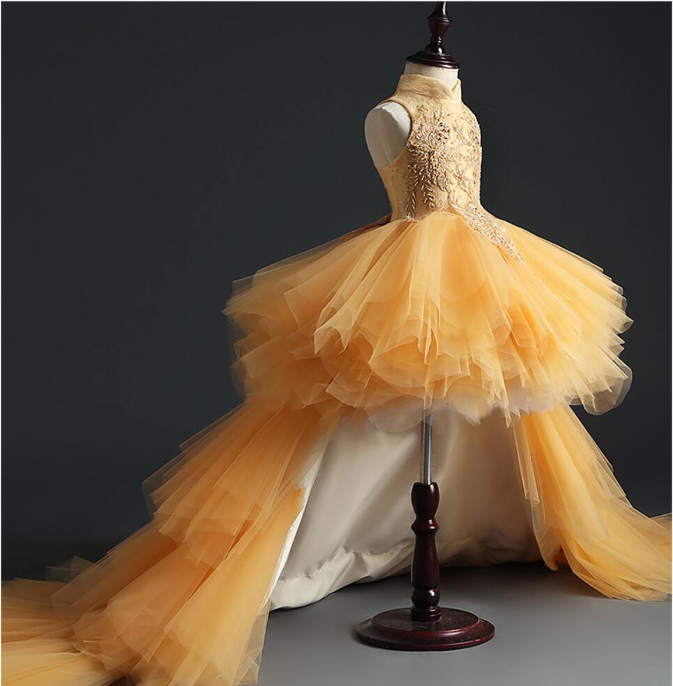 vestido contas tule vestido de baile meninas 02