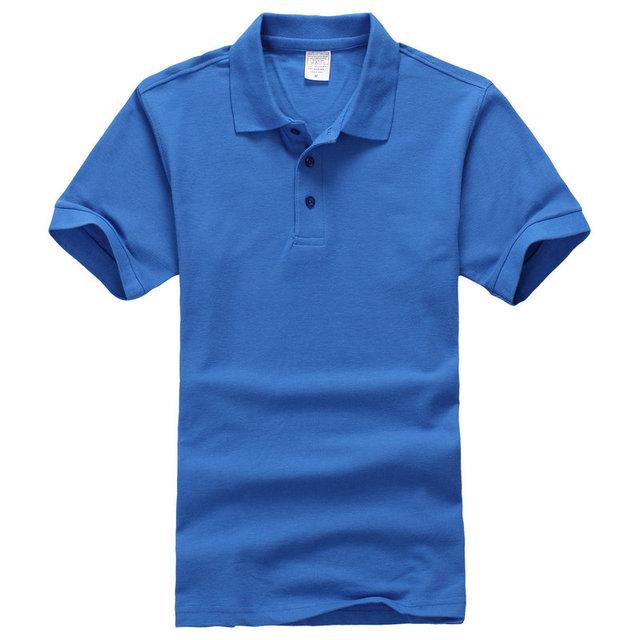 2017 Moda Para Hombre camisa de polo de Tamaño Europeo Marcas ropa homme Casual Suelta Transpirable de Algodón de Polo de manga corta polo de Los Hombres camisa