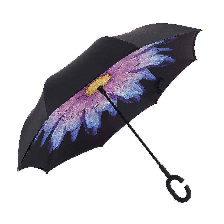 Makina ombrellë të përmbysur Euow vetura ombrellë të kthyeshme - Mallra shtëpiake