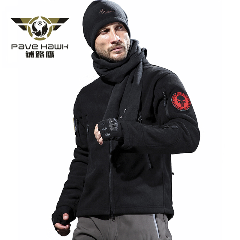 Army Military Fleece Jacket Men Hoodie Hunting Coat Outdoor Sports Sweater Tactical Jacket Clothes Women Plus Size Autumn Winter