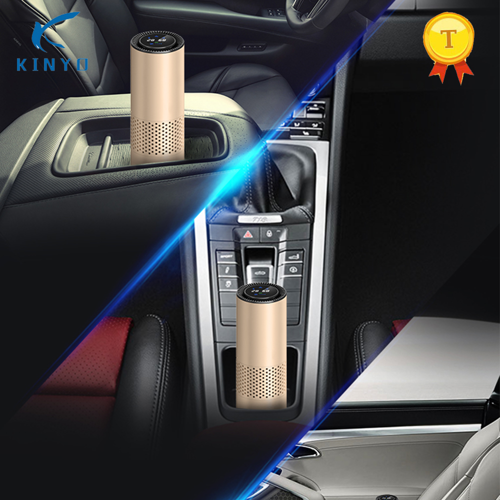 Car Air Purifier With True HEPA Active Carbon Filter No Ozone Odour PM Eliminator Air Purification Health Air For Home Office