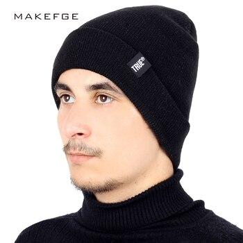 Fashion TRUE Brand Knit Beanie Hat Solid Color High Quality Winter Hat Man Woman Warm Soft Cap Skullies Bone Black Ski Sport beanie