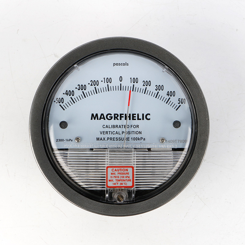 -500 To 500pa Micro Differential Pressure Gauge High TE2000 500