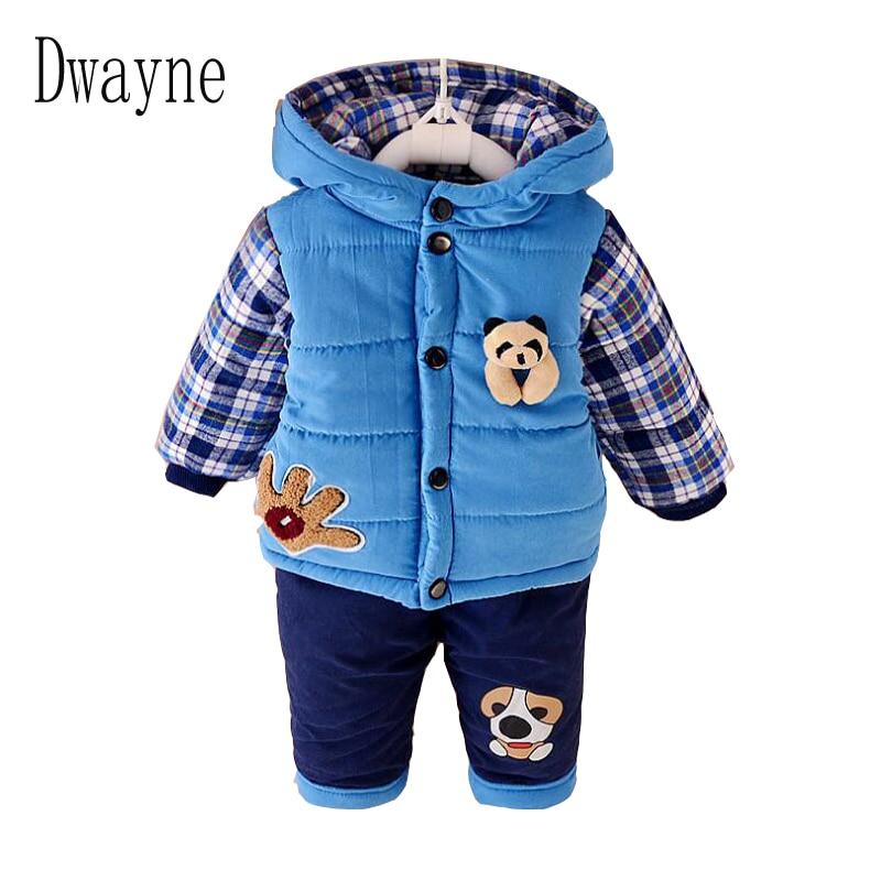 Newborn Baby Winter Clothing Set Kids Boys Coat Pants Suits Children Set Camouflage Clothes Boys Sport Suits Toddler Baby Sets