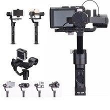 Zhiyun Crane M 3-Axis Gimbal Stabilizer for Sports Cameras Smartphones for Sony black magic DC for Lumix DMC Mirrorless cameras