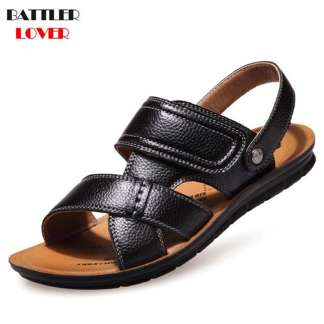 df18d8a7730 Cheap Sandals Men Slippers Flip Flops Men Shoes Sandale Homme Flip Flop  Men s Sandal Shoes Chanclas Hombre Clogs Tongs Homme ete